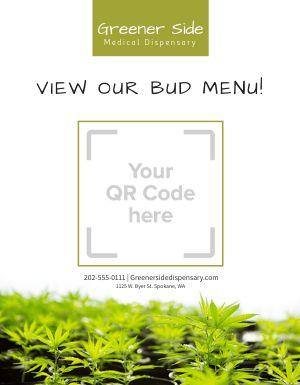 Dispensary QR Code Signage