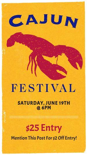 Cajun Festival Facebook Story