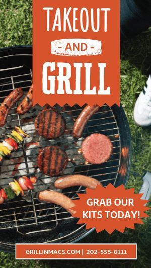 Grill Kit Facebook Story