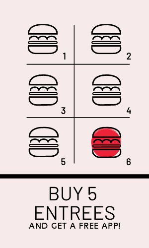 Burger Stamp Card