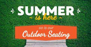 Summer Seating Facebook Update