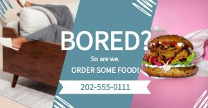 Bored Food Facebook Post