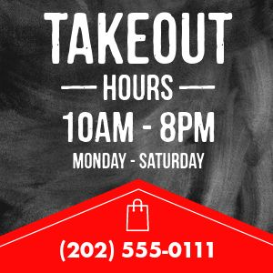 Takeout Alert Instagram Post