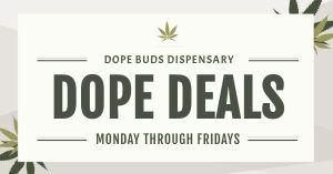 CBD Dispensary Facebook Post