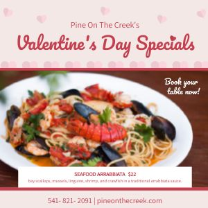 Valentines Day Specials Instagram Post