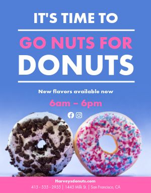 Donuts Flyer