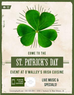 St Patricks Specials Announcement