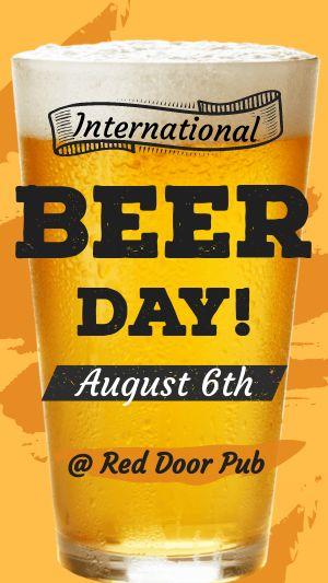 Beer Facebook Story