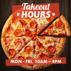 Pizzeria Takeout Instagram Post