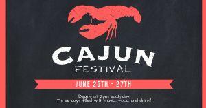 Cajun Festival Facebook Update