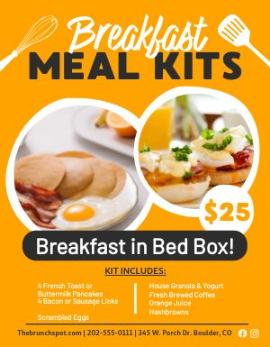 Meal Kits Flyer