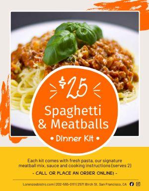 Dinner Kit Flyer