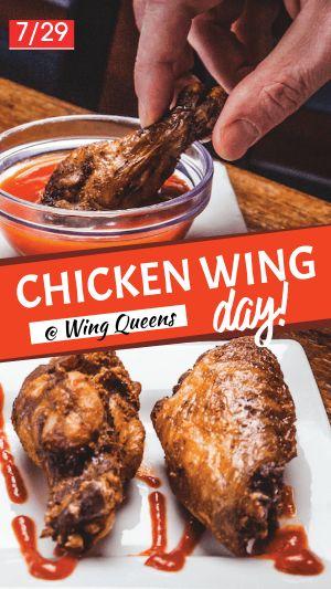Chicken Wing Facebook Story