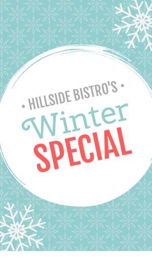 Winter Special Sticker