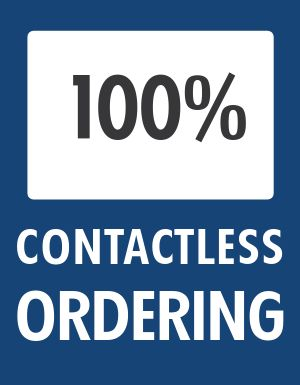 Contactless Ordering Flyer