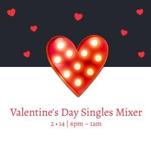 Valentines Day Party Instagram Post