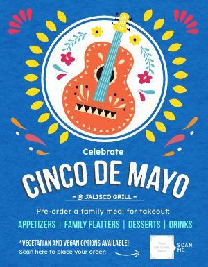 Celebrate Cinco De Mayo Flyer