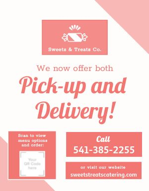 Catering Business Flyer