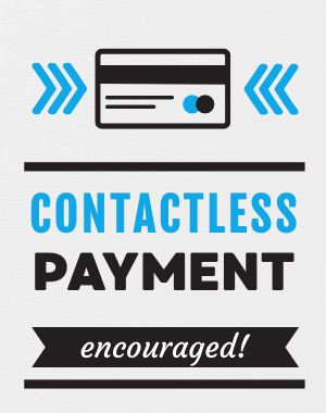 Contactless Payment Poster