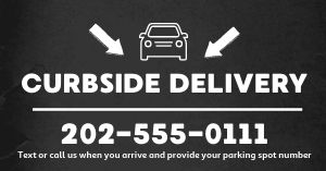 Curbside Delivery Facebook Post