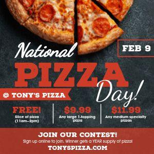 Pizza Day Deals Instagram Post