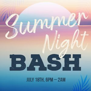Summer Night Bash Instagram Post