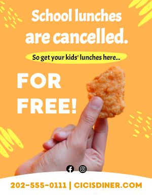 Chicken Free Flyer