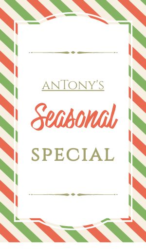 Seasonal Special Sticker