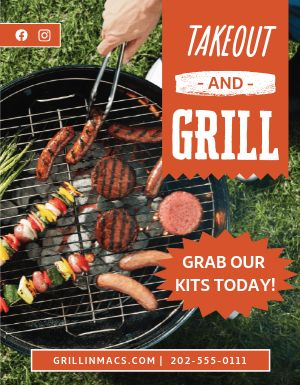 Grill Kit Flyer