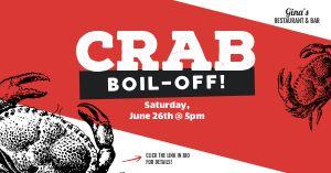Crab Boil Facebook Post