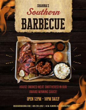 Southern Barbecue Flyer