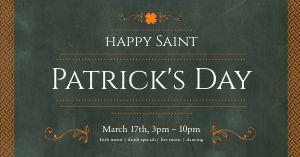 St Patricks Dinner Facebook Post