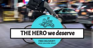 Hero Delivery Facebook Post