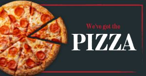 Promotional Pizza Facebook Post