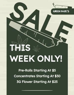 Dispensary Sale Flyer