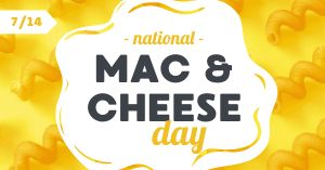 Mac and Cheese Facebook Post