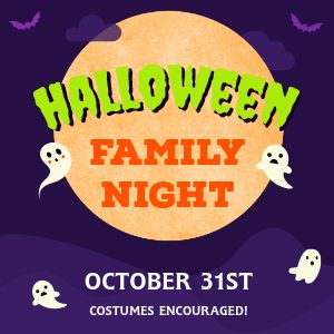 Halloween Family Night Instagram Post