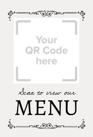Online Menu Table Display