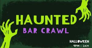 Halloween Bar Crawl Facebook Post