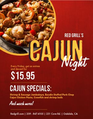 Cajun Night Flyer