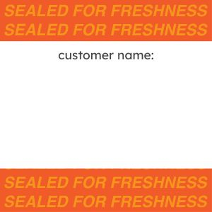 Customer Name Seal