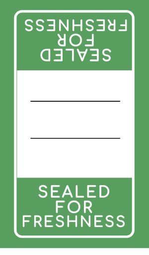 Freshness Safety Label