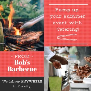Barbecue Catering Instagram Post