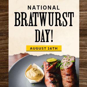 Bratwurst Instagram Update