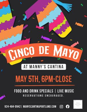 Cinco De Mayo Event Sign