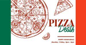 Italian Pizza Deal Facebook Post