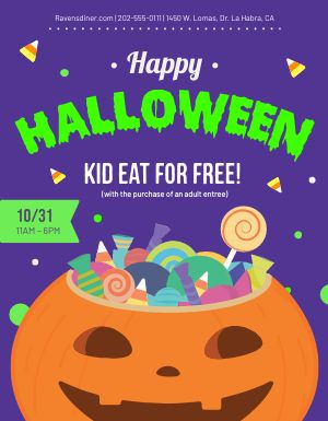 Halloween Kids Flyer