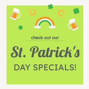 St Patricks Specials Instagram Post