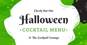 Halloween Cocktail Facebook Post