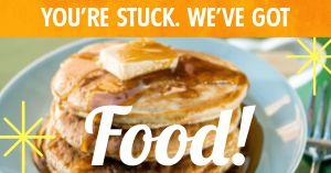 Pancake Takeout Facebook Post